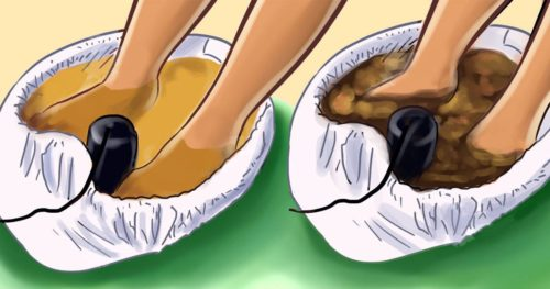 How To Detox Your Body Trough The Feet In 30 Minutes