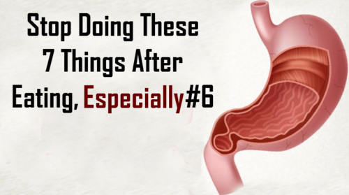 Stop Doing These 7 Things After Eating, Especially #6