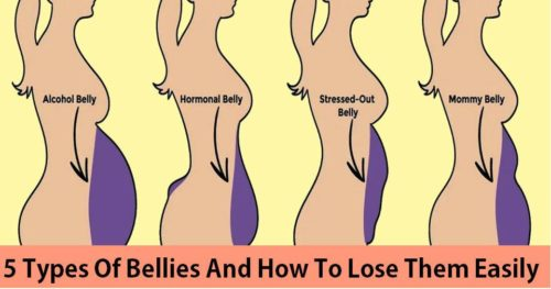 5 Types Of Bellies And How To Lose Them Easily
