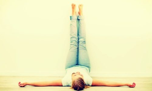 3 Things That Happen To Your Body When You Put Your Legs Against A Wall