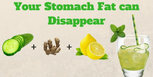 The Drink That Makes Your Stomach Fat Disappear Naturally