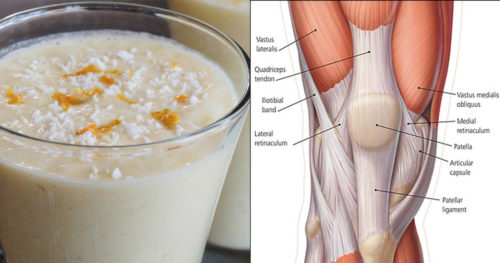 Natural Drink That Will Strengthen Your Knees And Ligaments