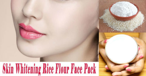 How To Easily Whiten Your Skin With Rice Powder