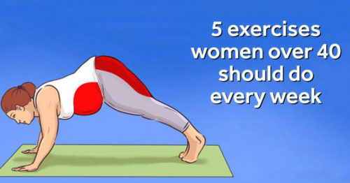 5 Exercises That Every Woman Over 40 Should Do To Lose Weight