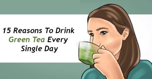 15 Reasons To Drink Green Tea Every Single Day
