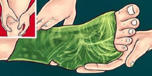 Place Cabbage Leaves On Your Feet For 1 Hour To Get Rid Of The Joint Pain