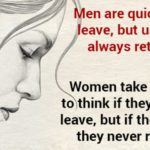 When A Woman Decides To Leave, No One Can Change Her Mind