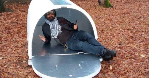 An Engineer Invented Shelters For Homeless People That Retain Heat