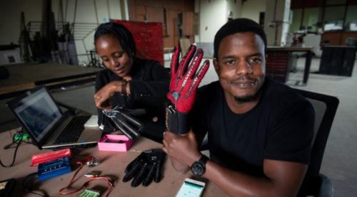 Smart Gloves That Turn Sign Language Into Speech Were Created By A Kenyan Engineer