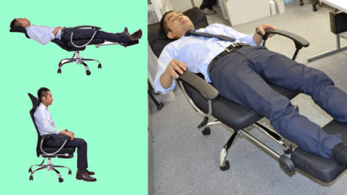 If You Want To Have A Nap At Your Office, You Should Order This Chair Immediately