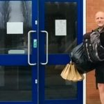 Meet The Hero Assistant Headteacher: He Walks Miles Daily To Deliver Free School Lunches To Kids Of Struggling Families